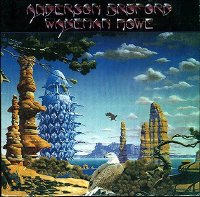 Anderson, Bruford, Wakeman and Howe West German LP front cover