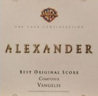 "Alexander ""For Your Consideration"" US promo CD"