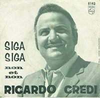 "Siga Siga/Non et Non Greek 7"" picture sleeve front cover"