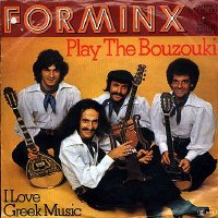 "Play the Bouzouki/I Love Greek Music West German 7"" front cover"