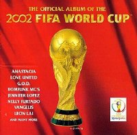The Official Album of the 2002 FIFA World Cup Korean CD front cover