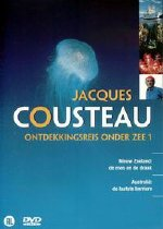 "Jacques Cousteau Ontdekkingsreis Onder Zee 01 - Dutch DVD, includes ""Australia-The Last Barrier"""