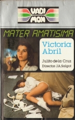 Mater Amatisima Spanish VHS videocassette front cover