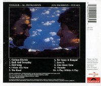 Back Cover of Short Stories CD on Spectrum label