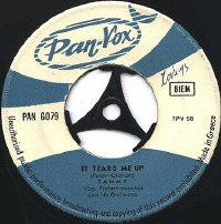 "It Tears Me Up/Heart of a Child 7"" single"