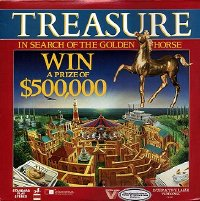 Treasure - In Search of the Golden Horse US laserdisc front cover