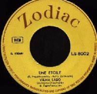 "Une Etoile/Le Vent Greek 7"" single"